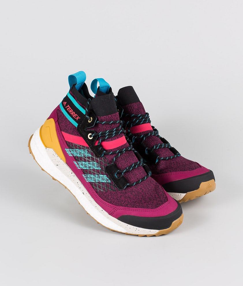 Adidas Terrex Terrex Free Hiker Blue Sko Power Berry/Alumin/Core Black