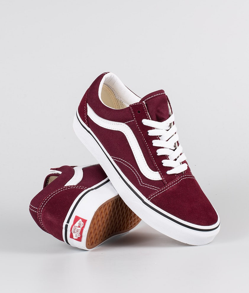 Vans Old Skool Sko Port Royale/True White