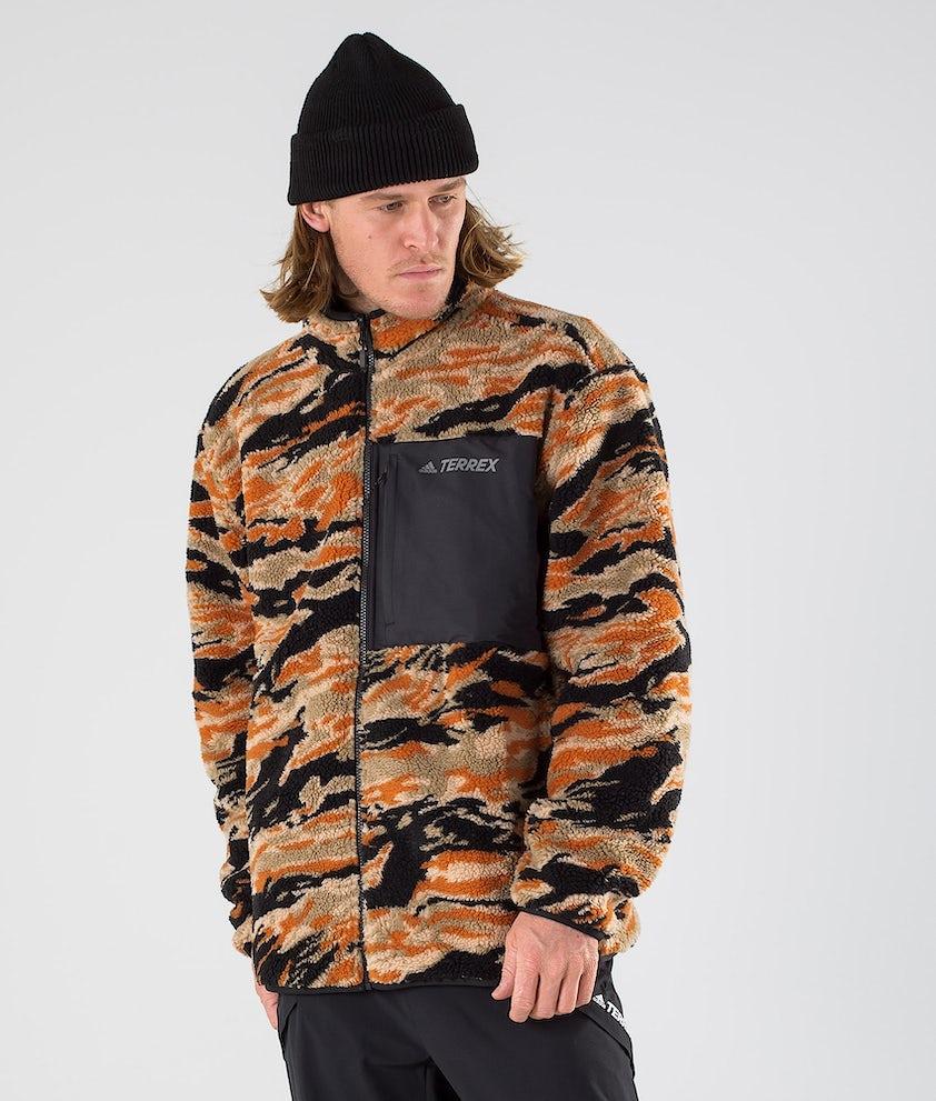 Adidas Terrex XPLR Sherpa Jacka Black