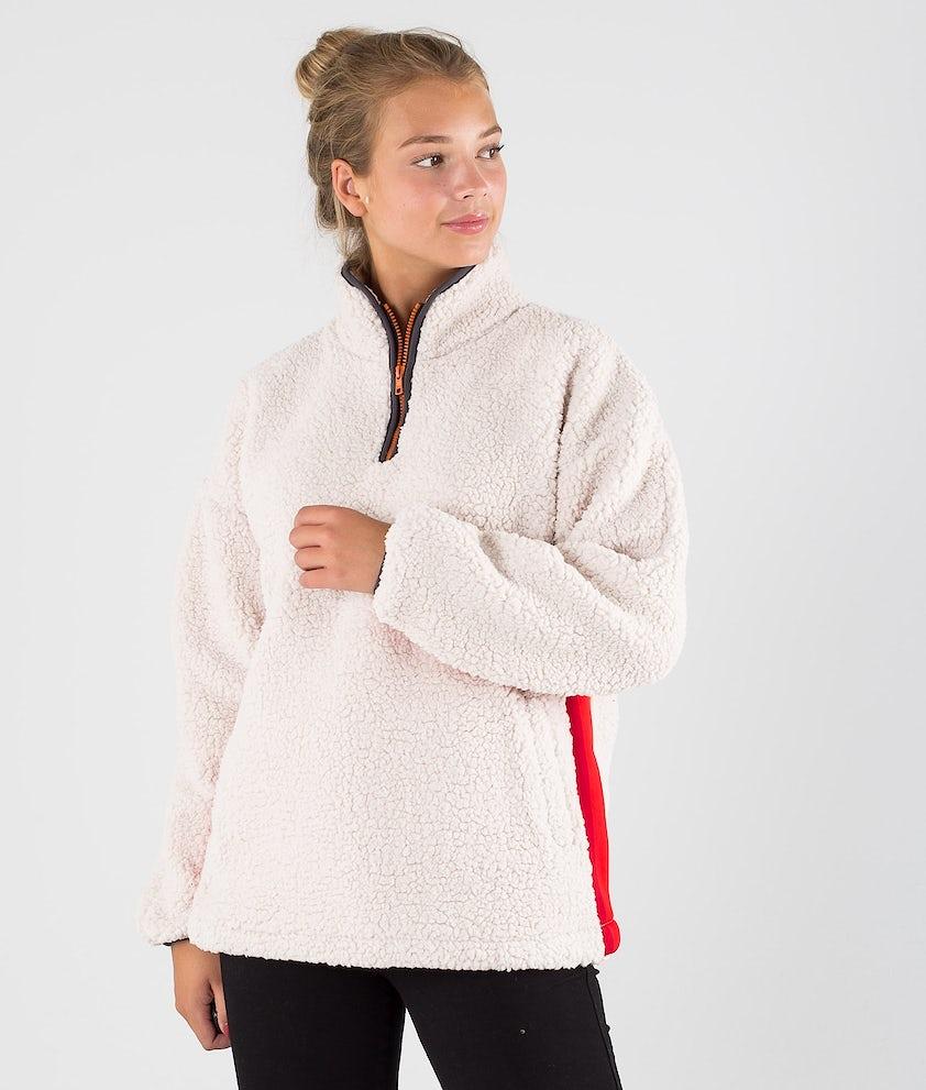 Rip Curl Nuna Polar Fleece Sweater Stone