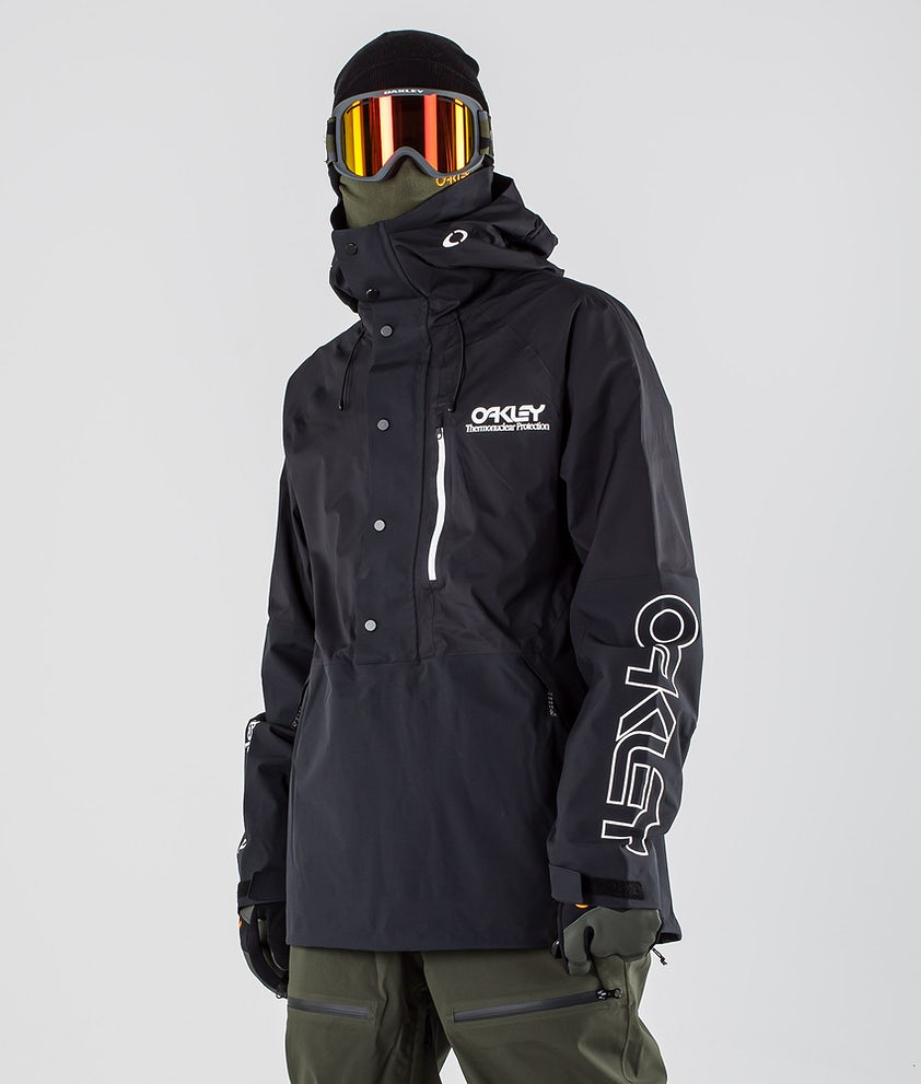 Oakley Lined Shell Anorak Skijakke Blackout