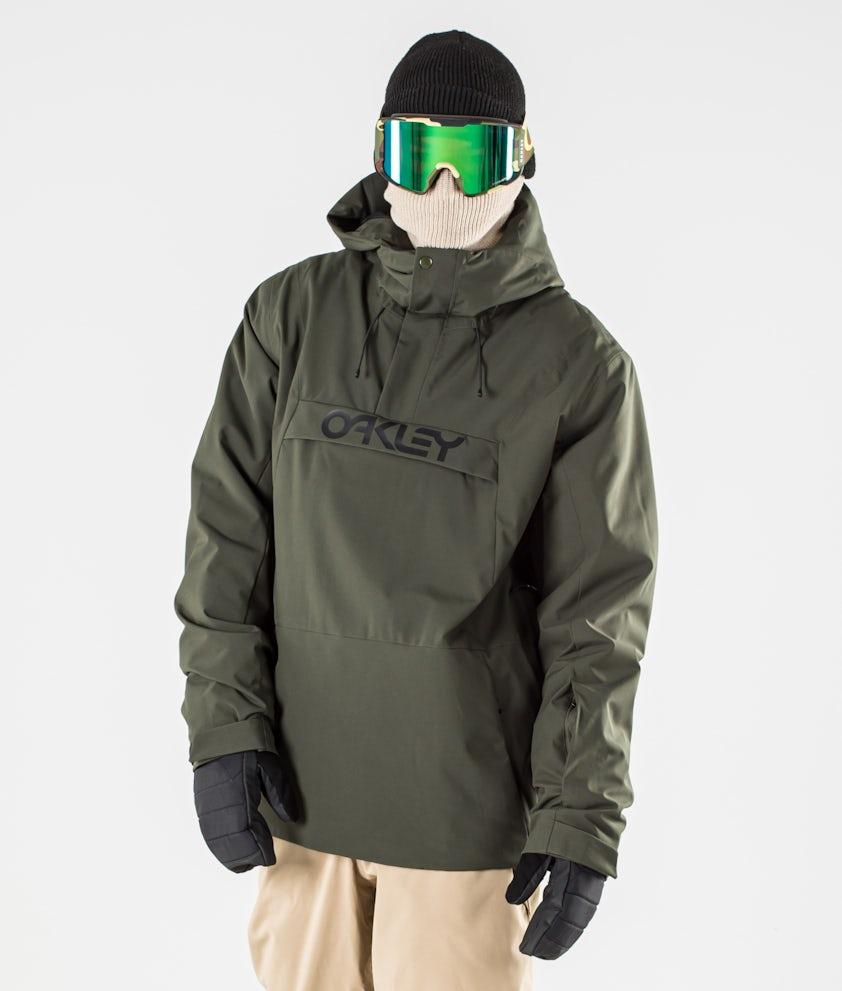 Oakley Insulated Anorak Snowboard Jacket New Dark Brush