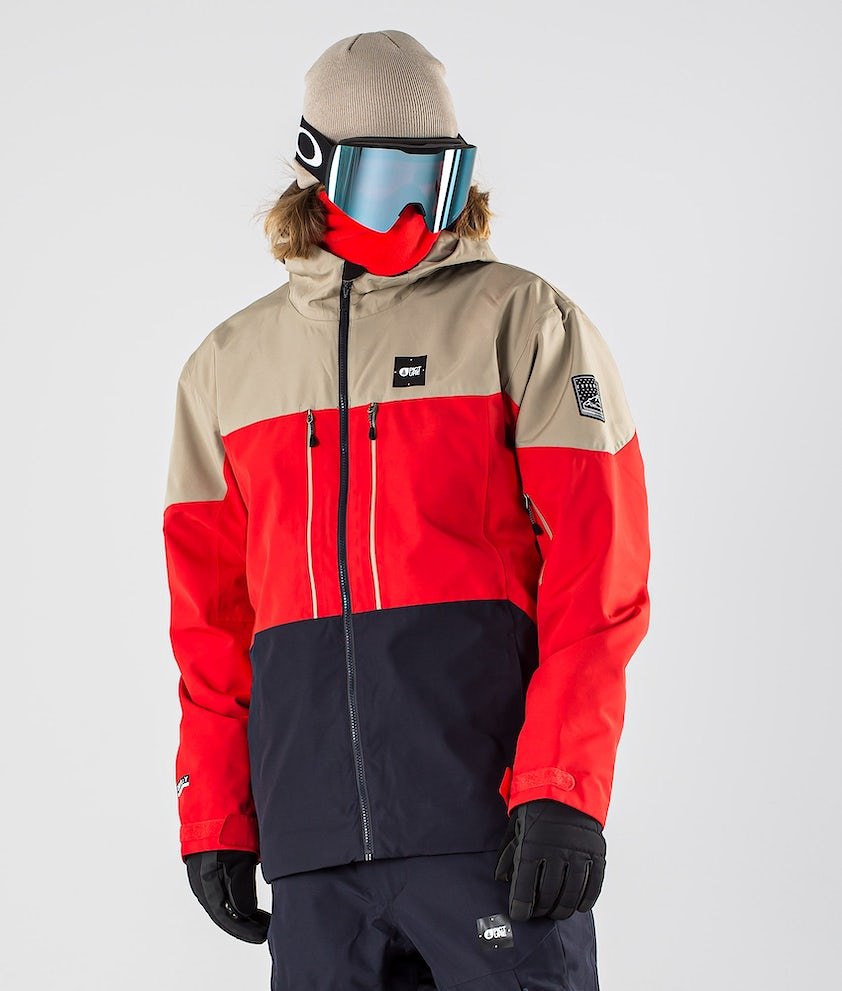 Picture Picture Object Ski Jacket Red Dark Blue