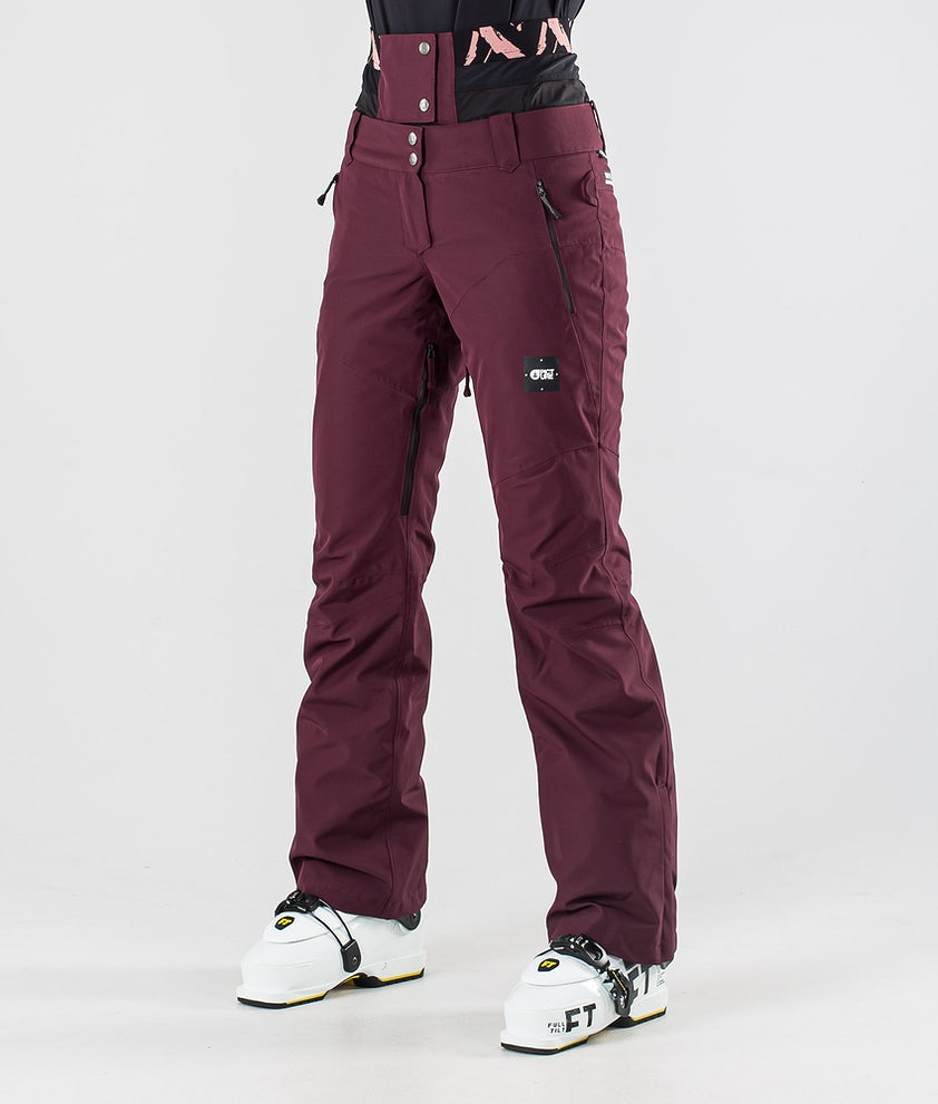 Picture Exa Ski Pants Burgundy