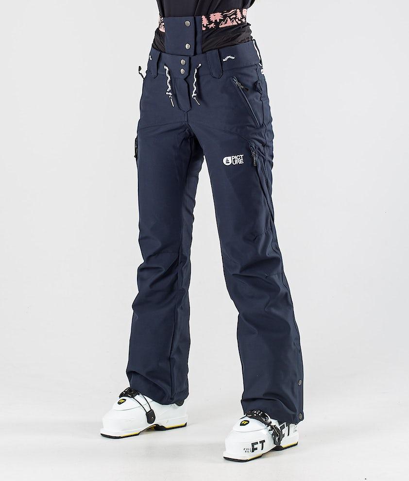 Picture Treva Pantalon de Ski Dark Blue