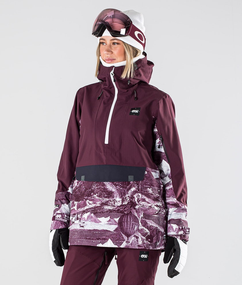 Picture Tanya Ski Jacket Burgundy
