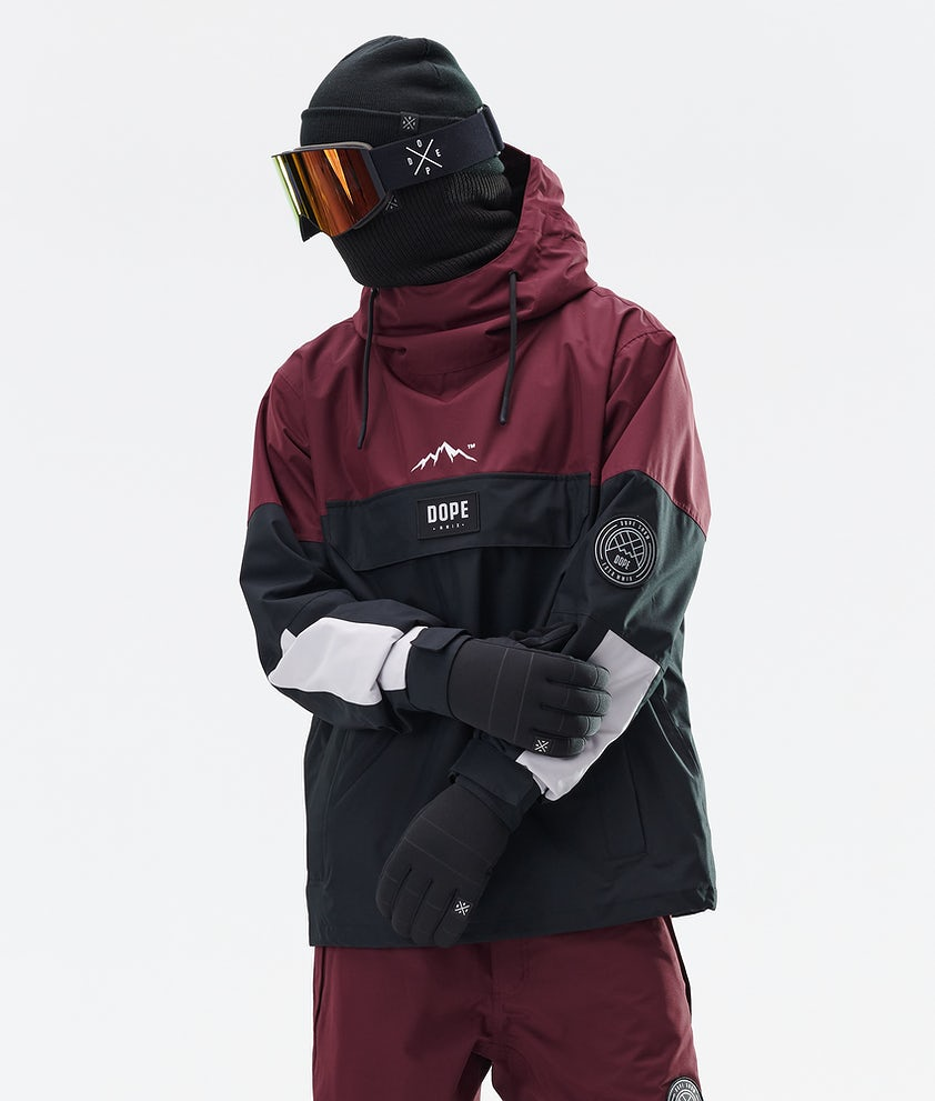 Dope Blizzard LE Snowboardjacka Burgundy Multicolour