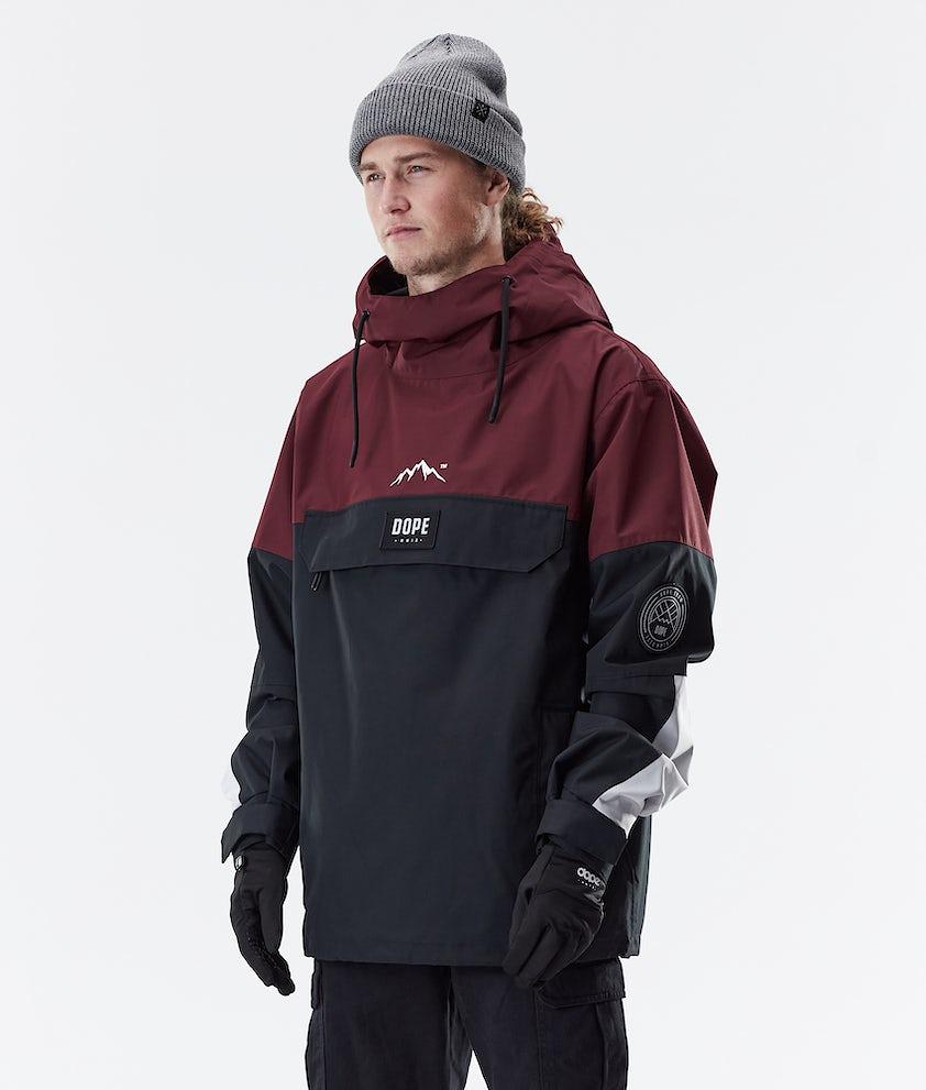 Dope Blizzard LE Winter Jacket Burgundy Multicolour