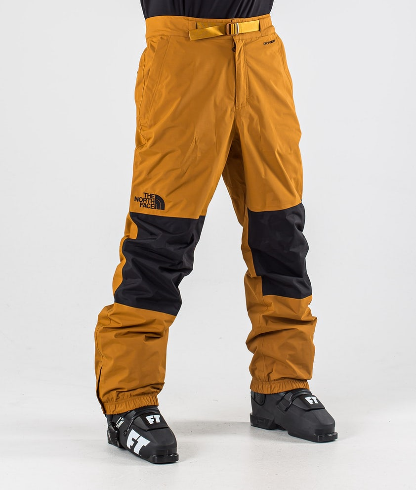 The North Face Up & Over Ski Pants Timber Tan/Tnf Black