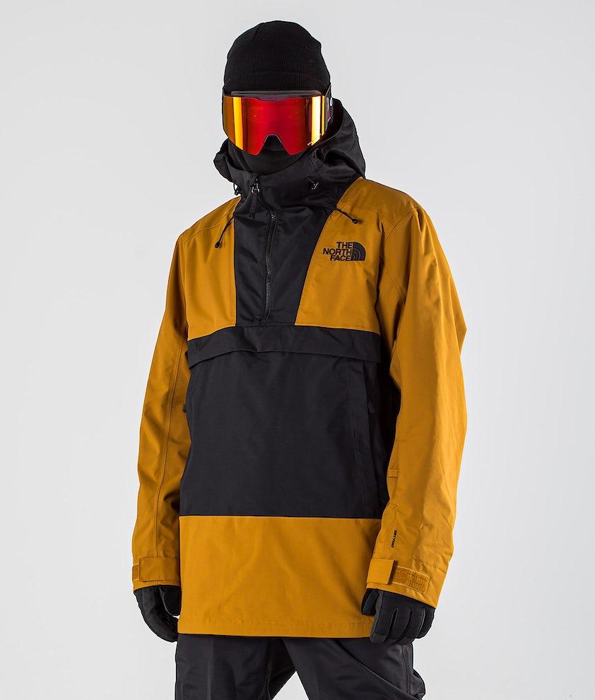 The North Face Silvani Anorak Ski Jacket Timber Tan/Tnf Black