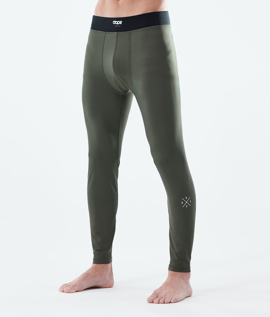 Dope Snuggle 2X-UP Base Layer Pant Olive Green
