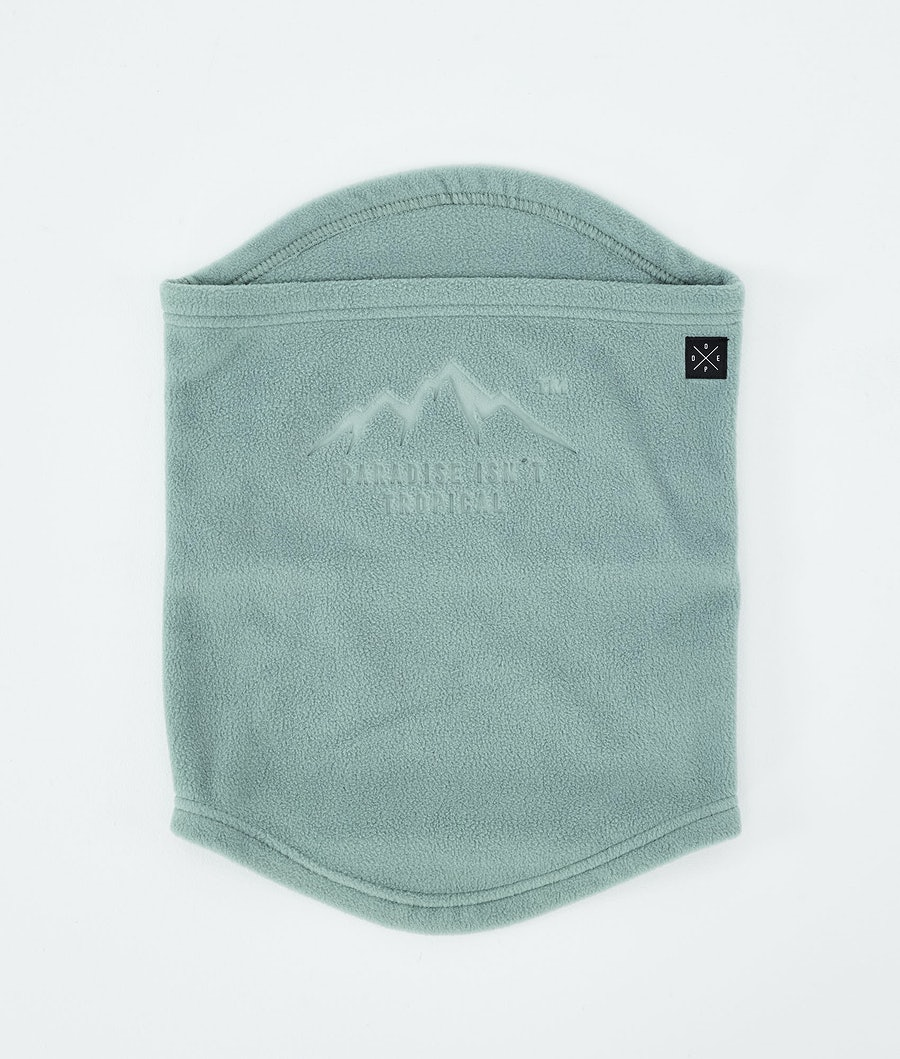 Dope Cozy Tube Facemask Faded Green