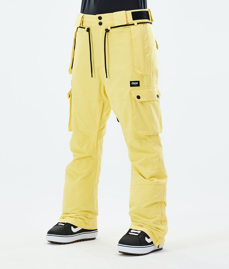 Dope Iconic W Snowboard Pants Faded Yellow