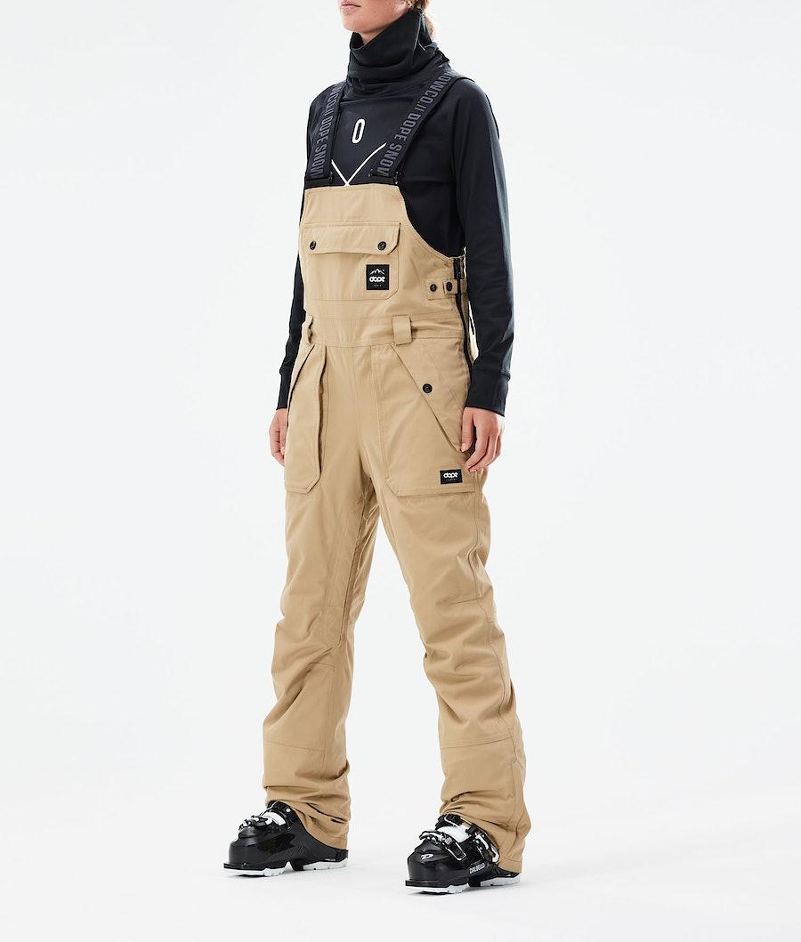 Dope Notorious B.I.B W Ski Pants Khaki