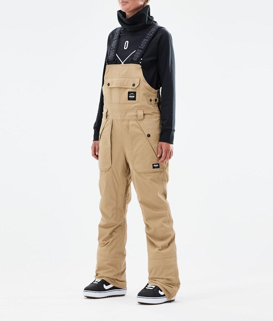Notorious B.I.B W Snowboard Pants Women Khaki