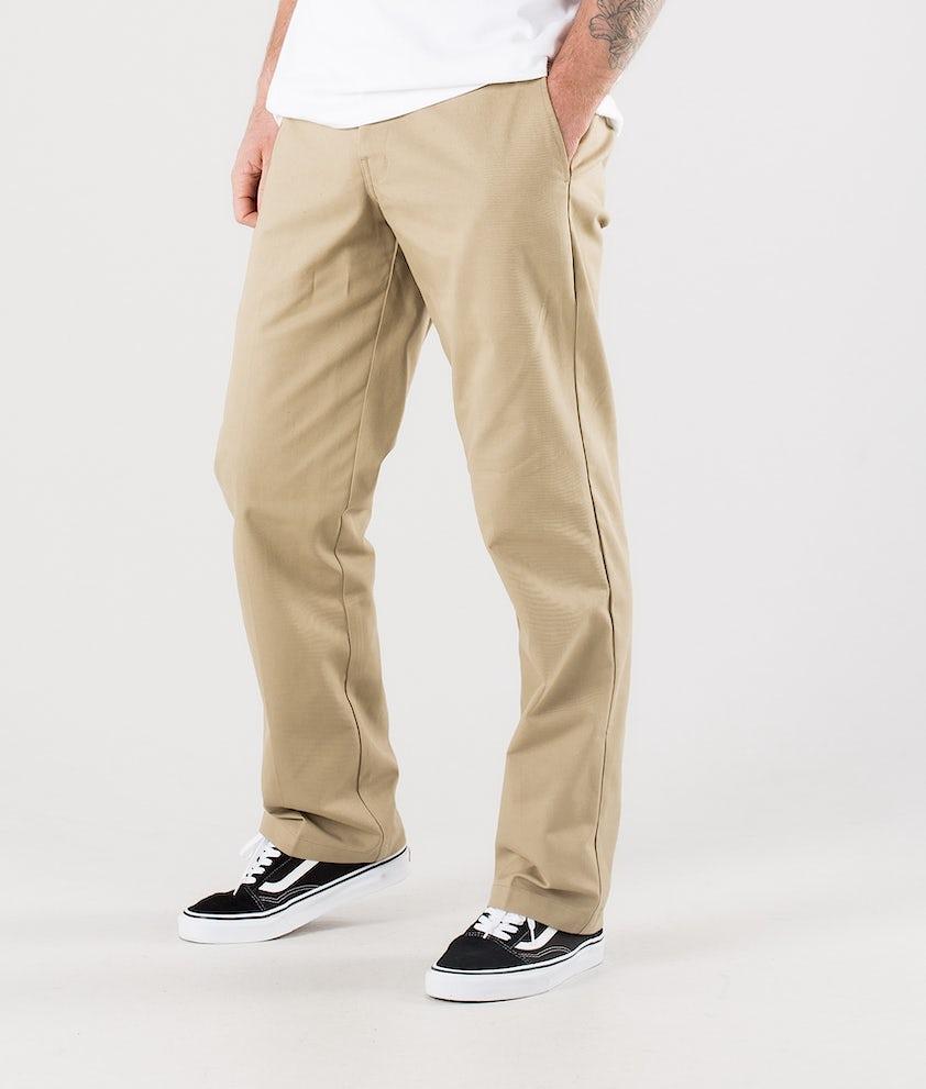 Dickies Slim Straight Flex Hosen Khaki