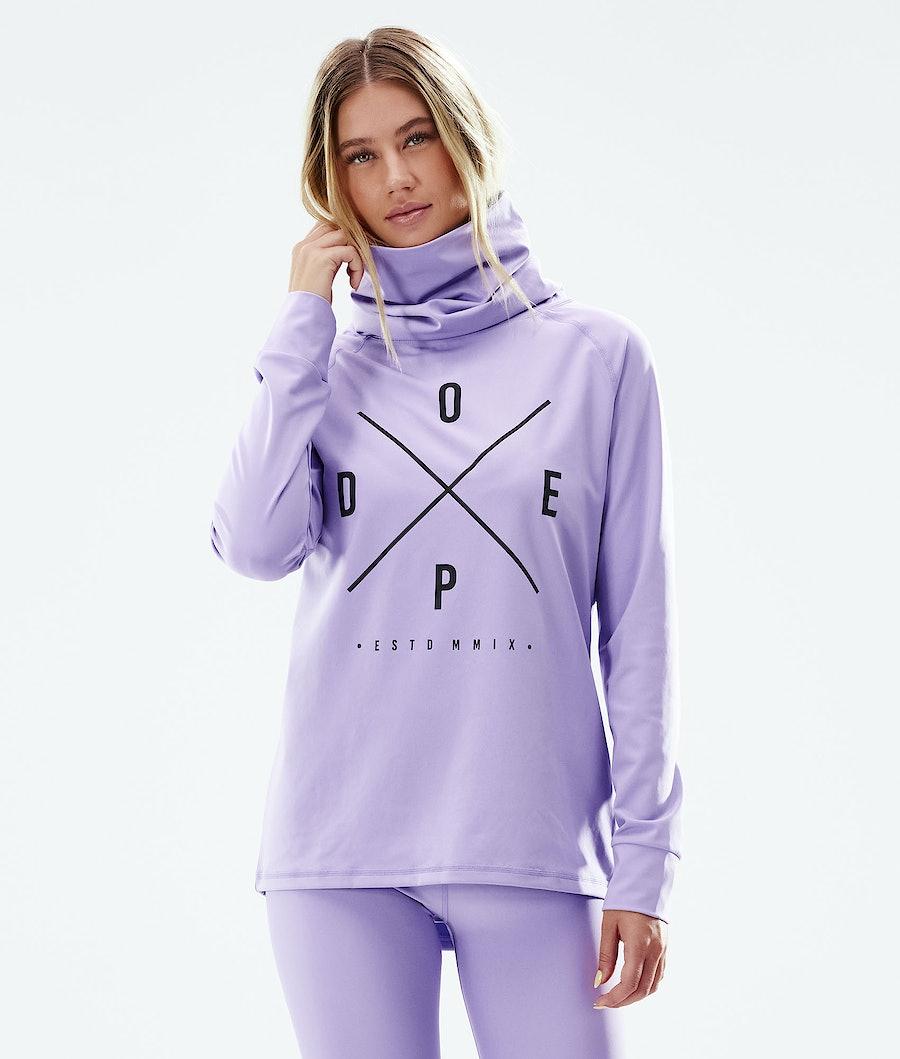 Dope Snuggle 2X-UP W Superundertøy overdel Faded Violet