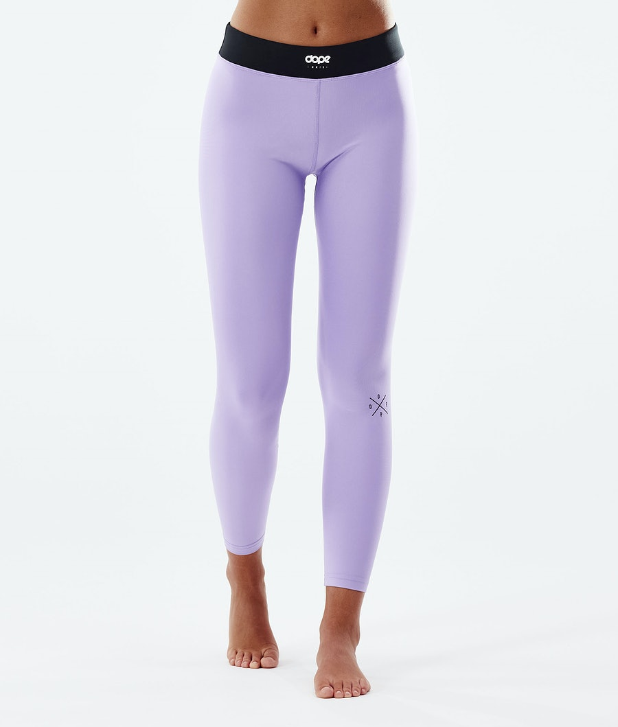 Dope Snuggle 2X-UP W Base Layer Pant Faded Violet