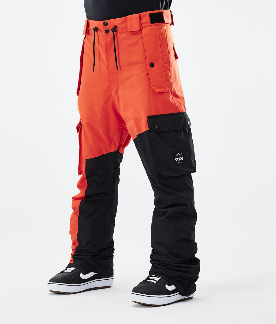 Dope Adept Snowboardhose Orange/Black
