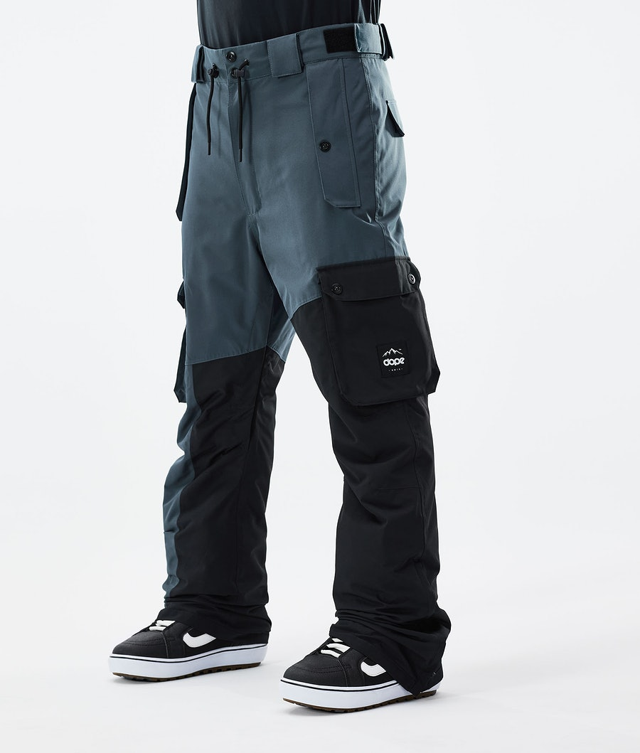 Dope Adept Snowboardbukse Metal Blue/Black