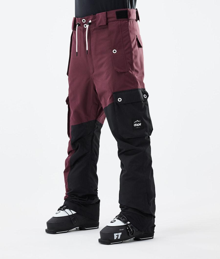 Dope Adept Pantalon de Ski Burgundy/Black