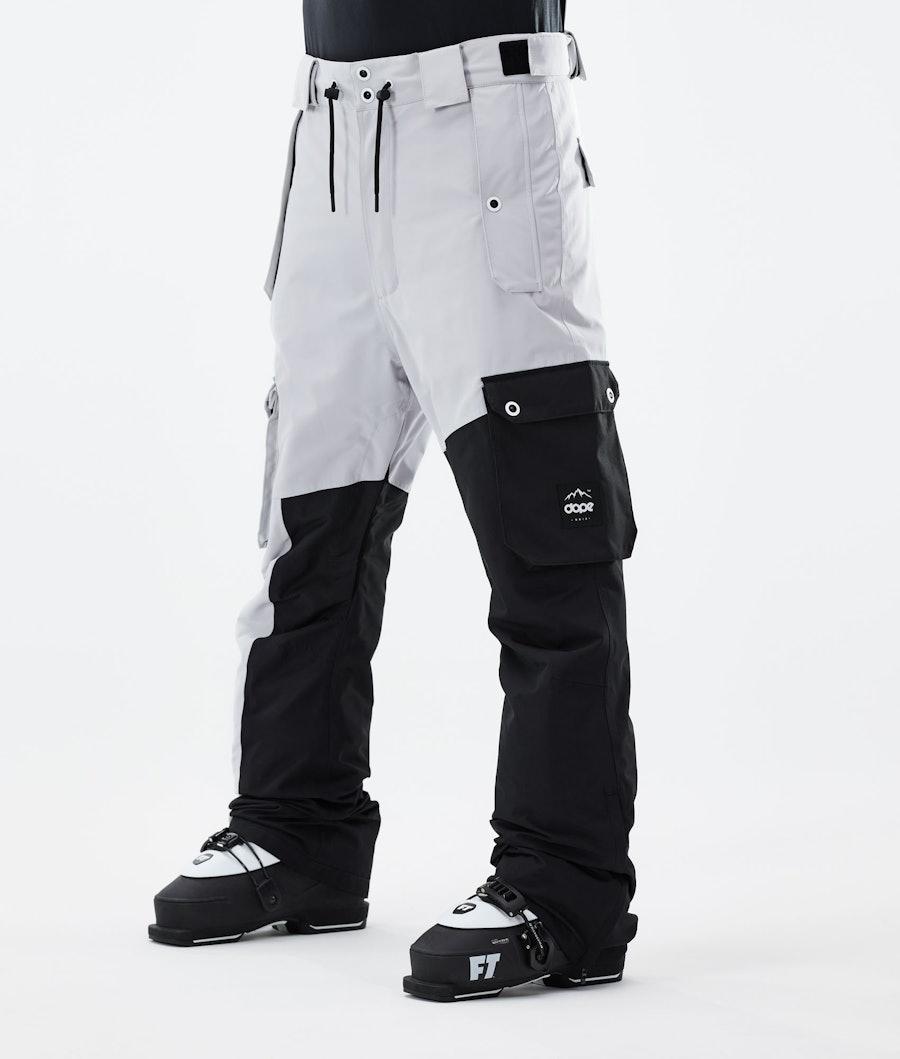 Adept Ski Pants Men Light Grey/Black