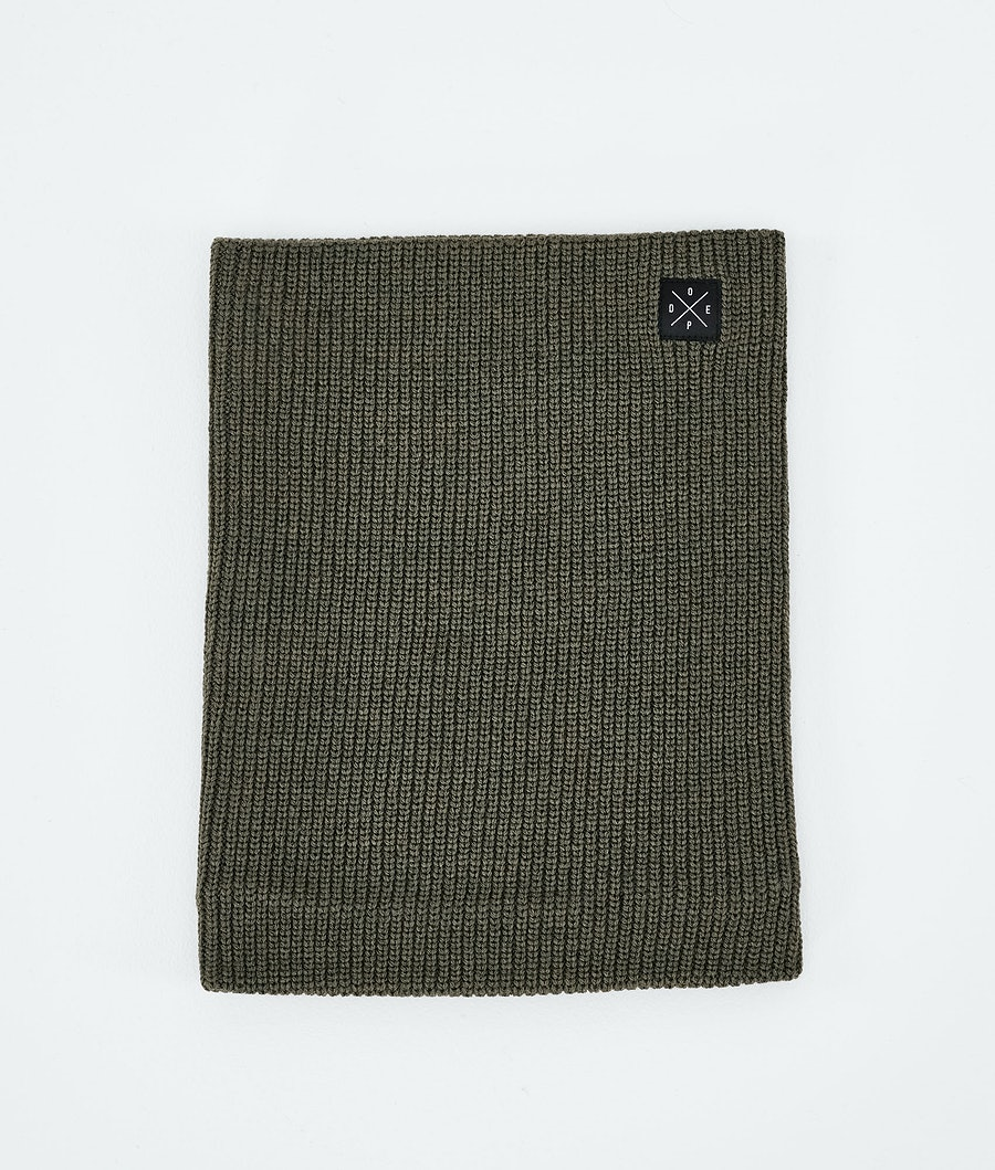 2X-UP Knitted Facemask Olive Green