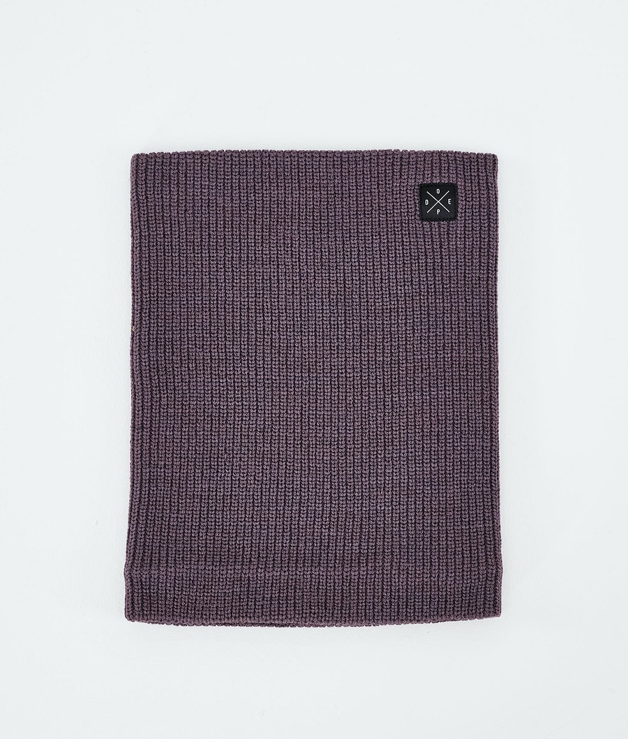 2X-UP Knitted Facemask Faded Grape