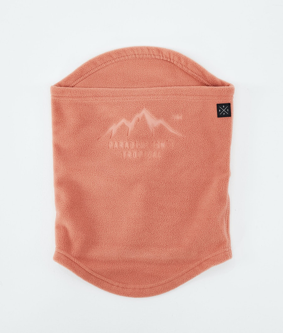 Dope Cozy Tube Facemask Peach