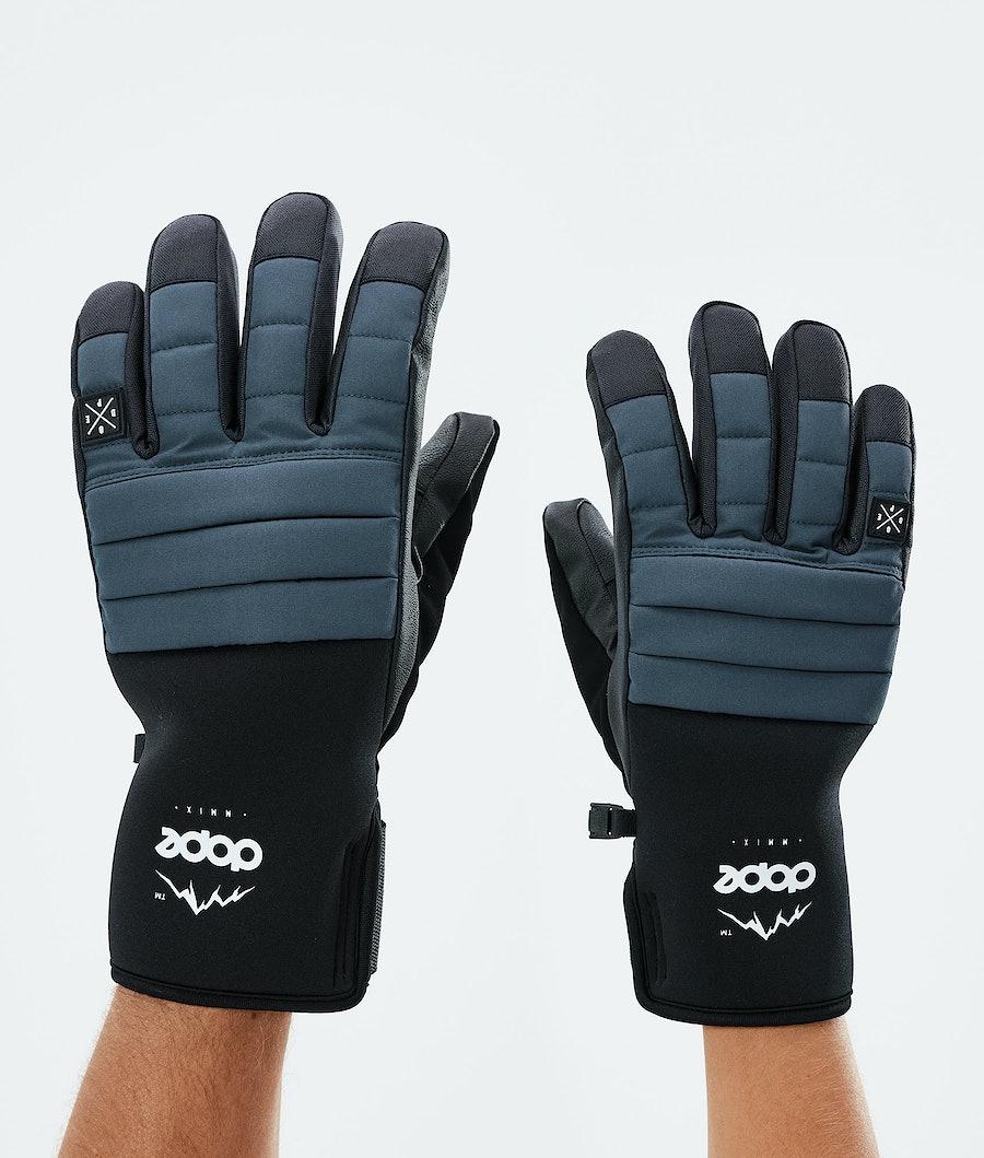 Dope Ace Glove Skidhandskar Metal Blue