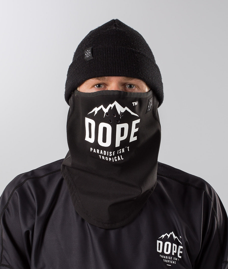 Dope Paradise Facemask Black/ White