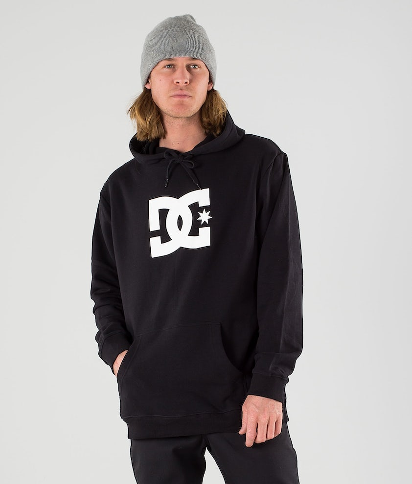 DC Star Hood Black
