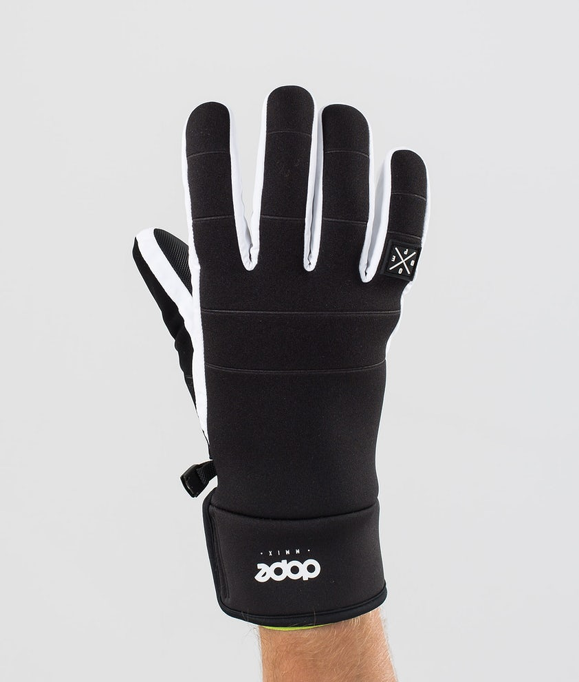 Dope Signet Glove Gants de Ski Black/White