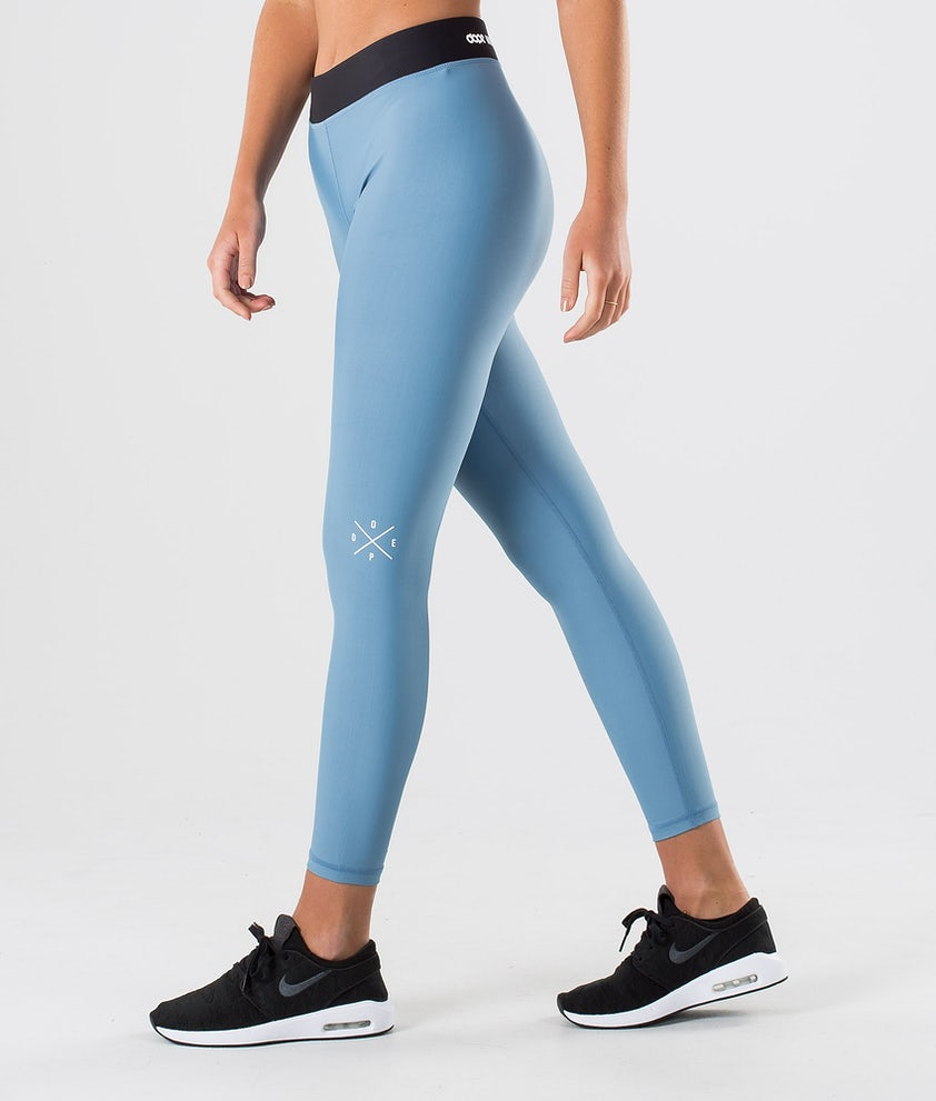Dope Razor Leggings Blue