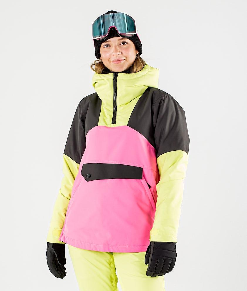 ColourWear Homage Anorak Snowboardjacka Yellow