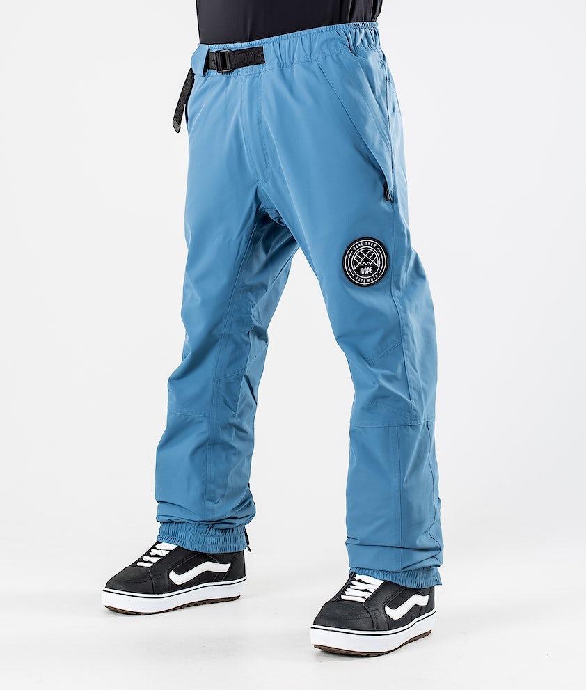 Dope Blizzard Snowboard Pants Blue Steel