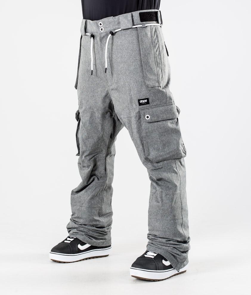 Dope Iconic Snowboardhose Grey Melange