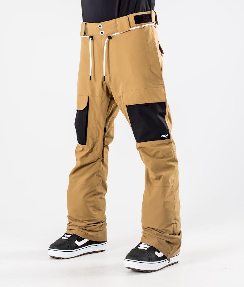 Dope Poise Snowboardhose Gold/Black