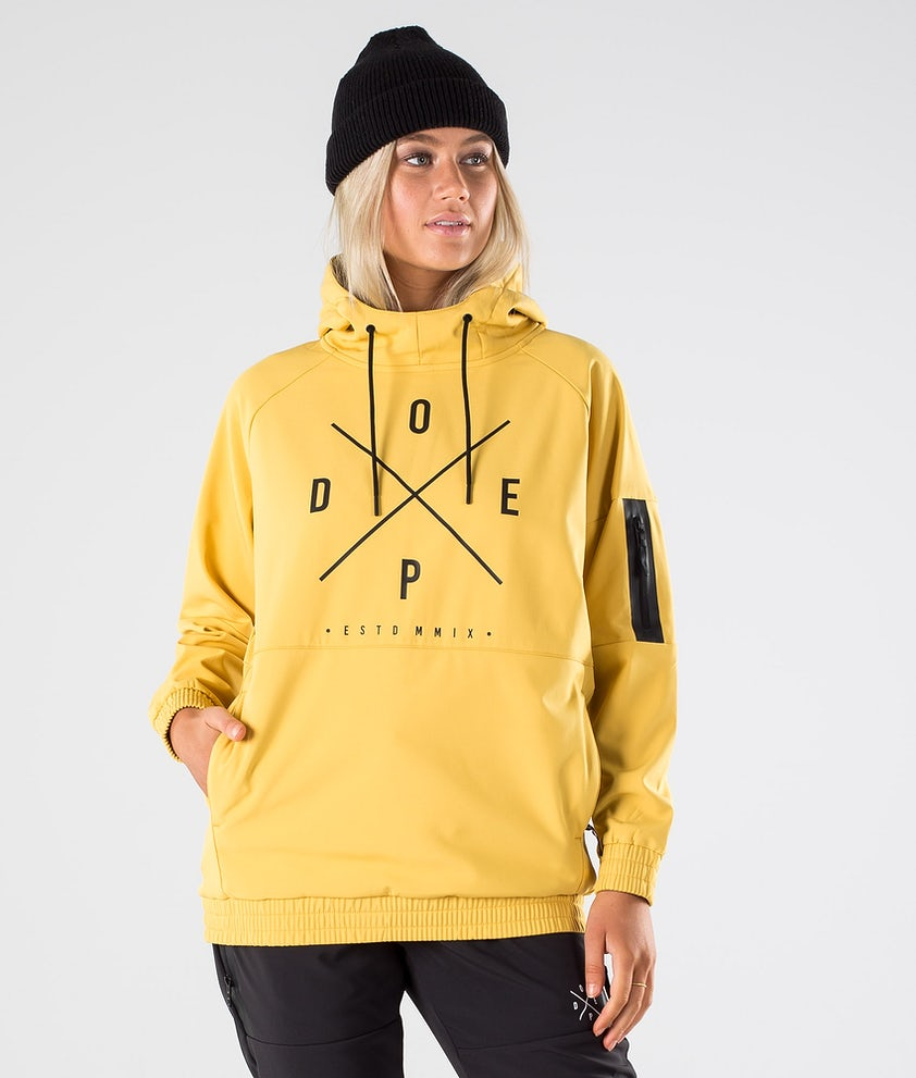 Dope Rambler W Outdoor Jacket Yellow