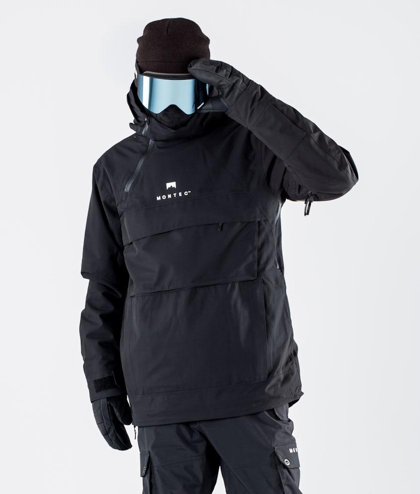 Montec Dune Snowboard Jacket Black