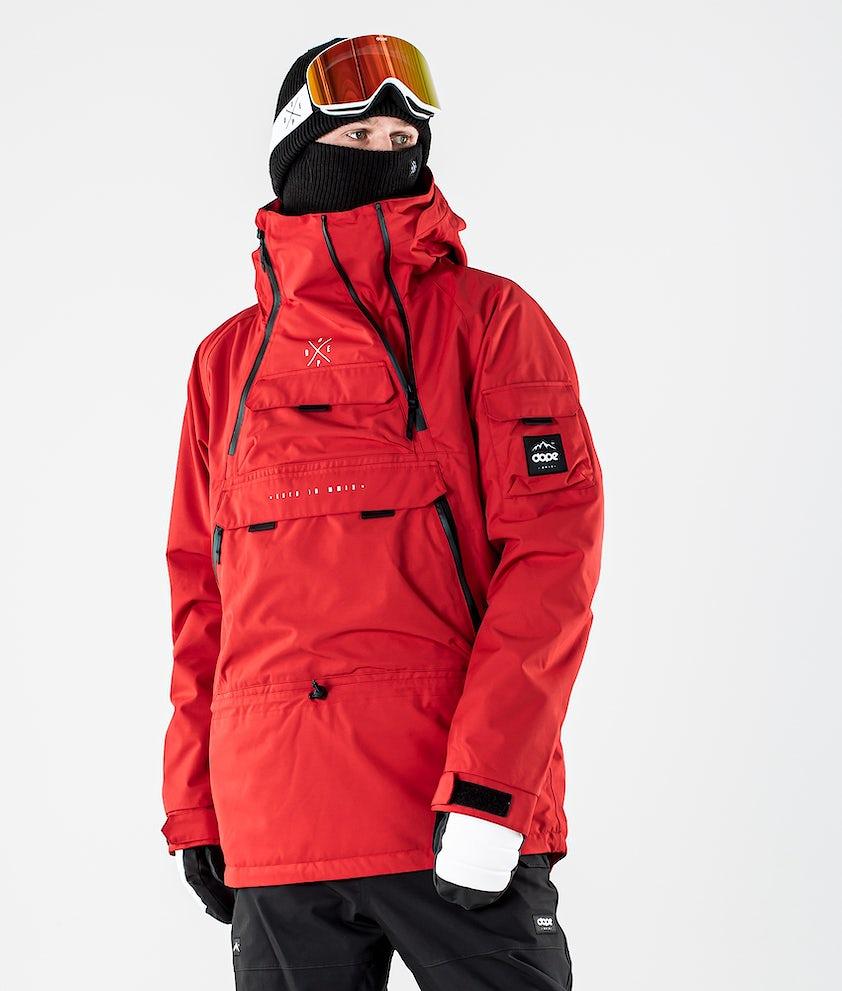 Dope Akin Ski Jacket Red