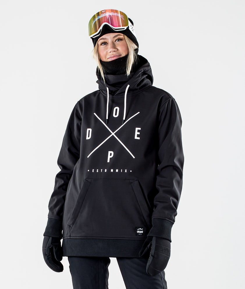 Dope Yeti W Skijakke Black