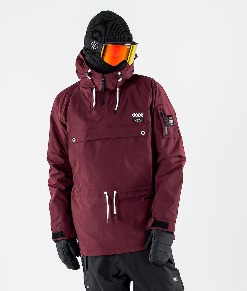 Dope Annok Giacca da Snowboard Burgundy