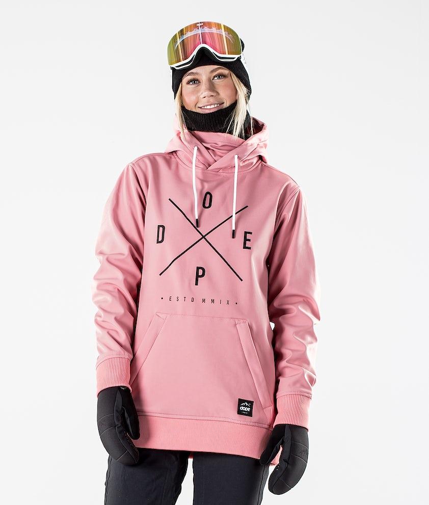 Dope Yeti W Skijakke Pink