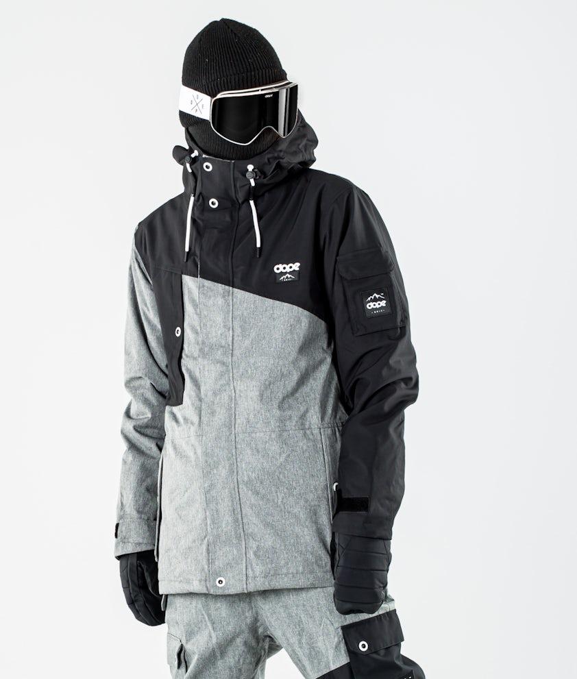 Dope Adept Snowboard jas Black/Grey Melange