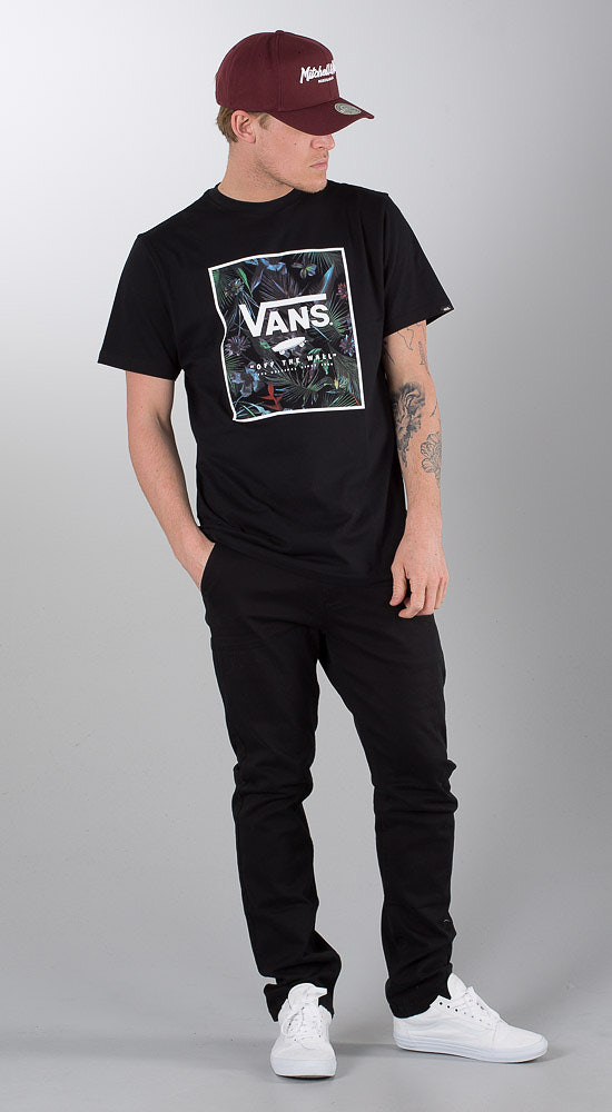 5320cf19fe Vans Print Box T-shirt Black Neo Jungle - Ridestore.se