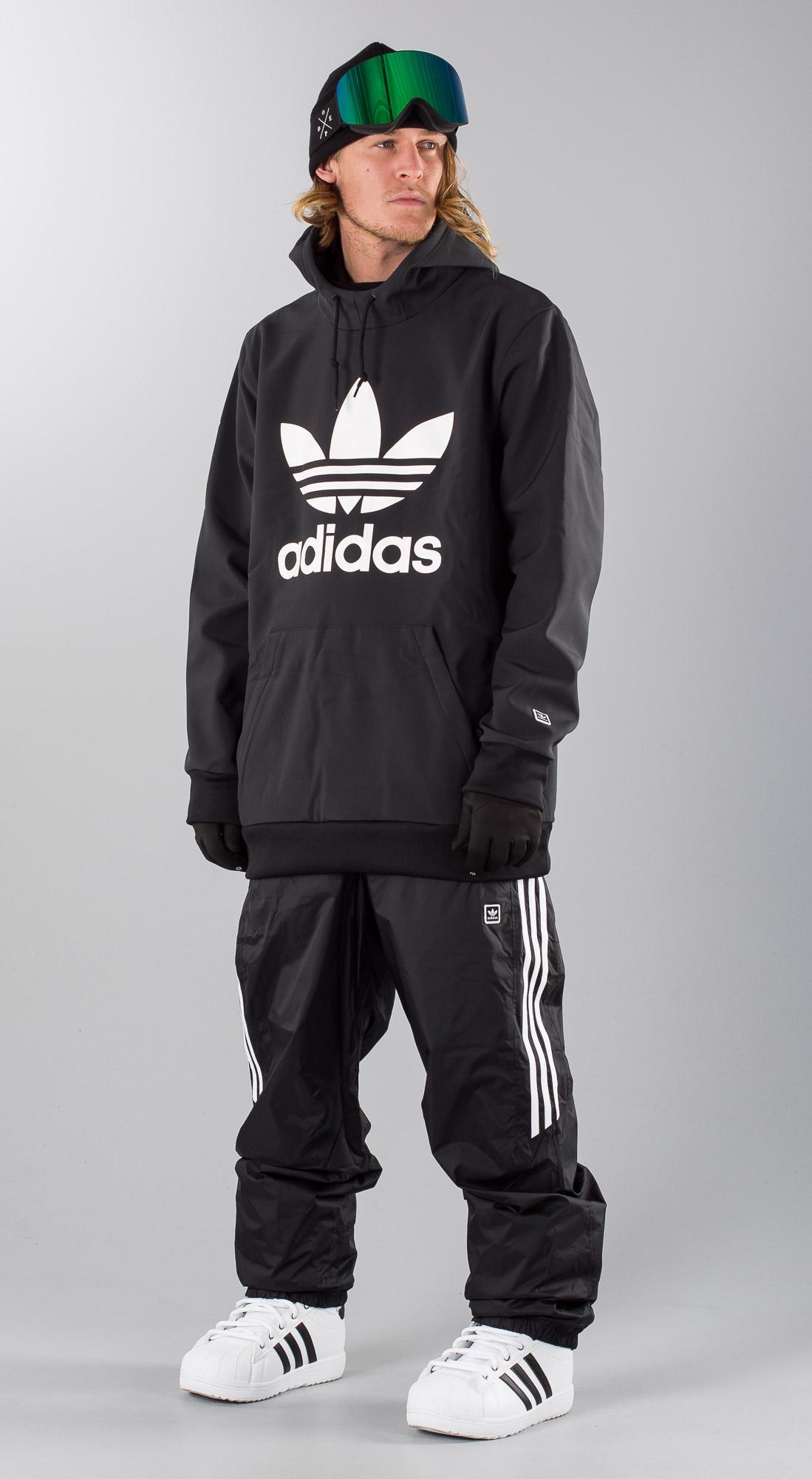 Adidas Team Tech Hoodie, blackwhite Hoody