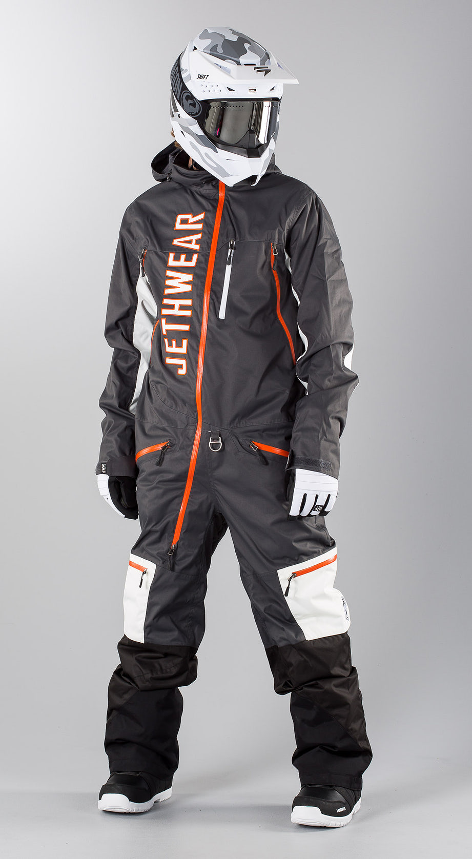 Jethwear The One  Grey Snowmobile Bekleidung Multi