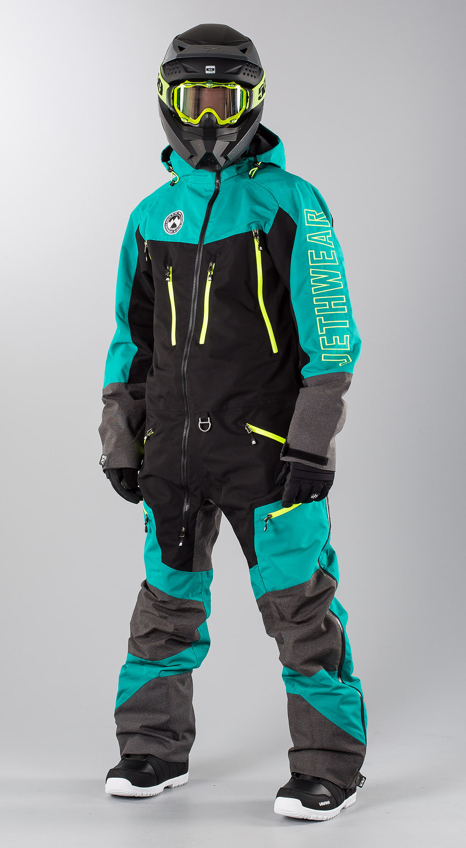 Jethwear Freedom Suit  Teal Snowmobile clothing Multi