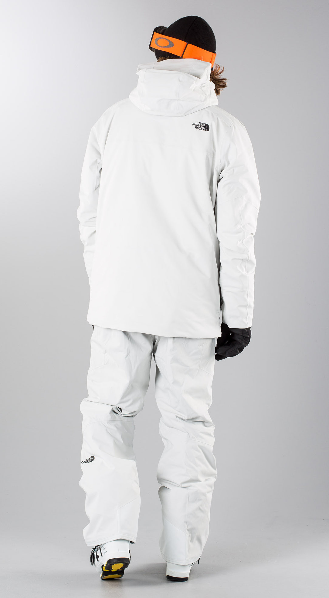 new york d7019 9b1f3 The North Face Chakal Grey/Black Skibekleidung - Ridestore